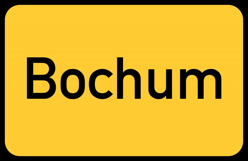 Bochum Ortsschild